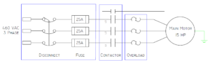 Motor Starter circuit